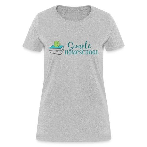 Simple Homeschool Logo - Women's T-Shirt
