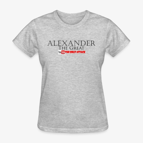 merch alexander the great - Women's T-Shirt