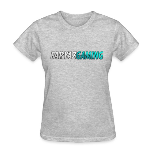 FaryazGaming Theme Text - Women's T-Shirt