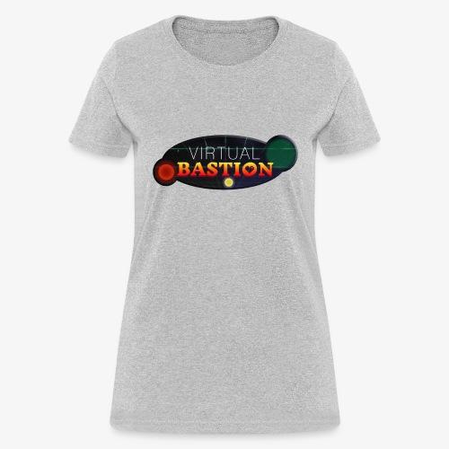Virtual Bastion: Space Logo - Women's T-Shirt