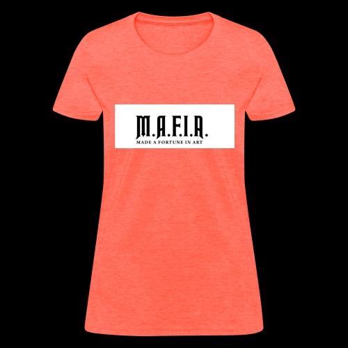 Classic Mafia Logo(White) - Women's T-Shirt