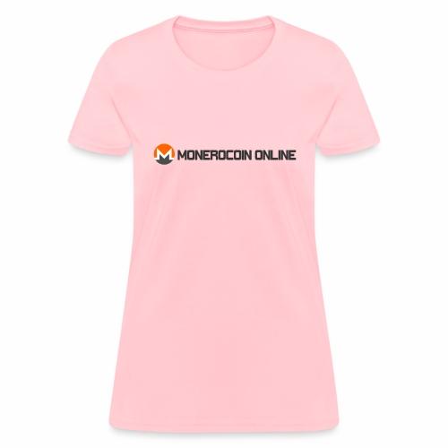 monerocoin online dar - Women's T-Shirt