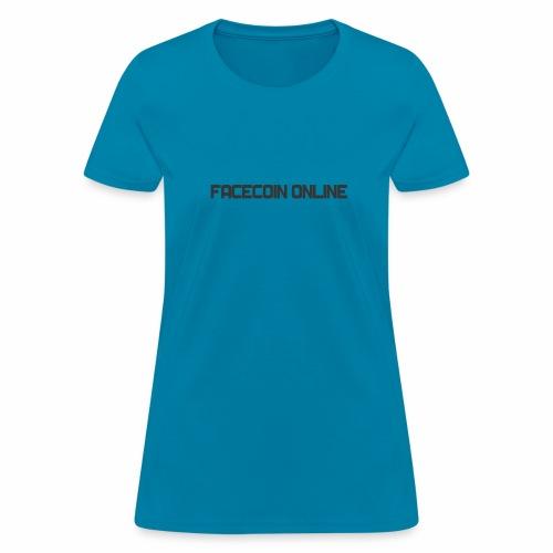 facecoin online dark - Women's T-Shirt