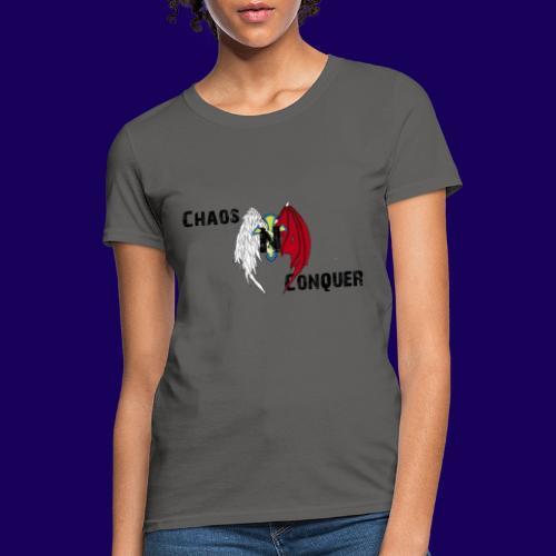 ChaosNConquer Design Logo - Women's T-Shirt