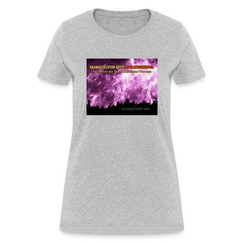 Managlitch 8x10 - Women's T-Shirt