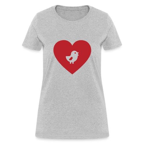 Heart Chick - Women's T-Shirt