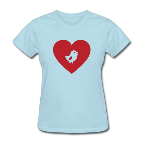 Heart Chick - Women's T-Shirt
