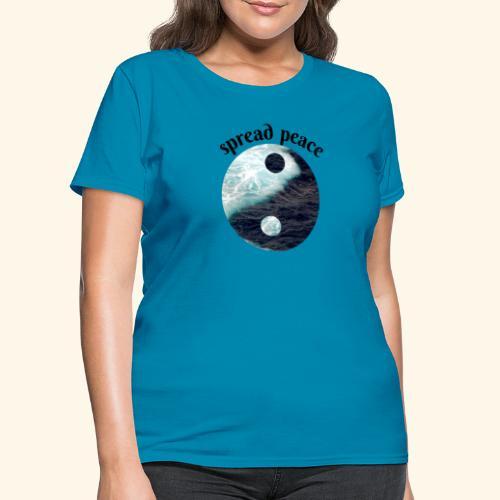 spread peace - Women's T-Shirt