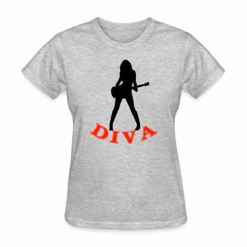 Rock Star Diva - Women's T-Shirt