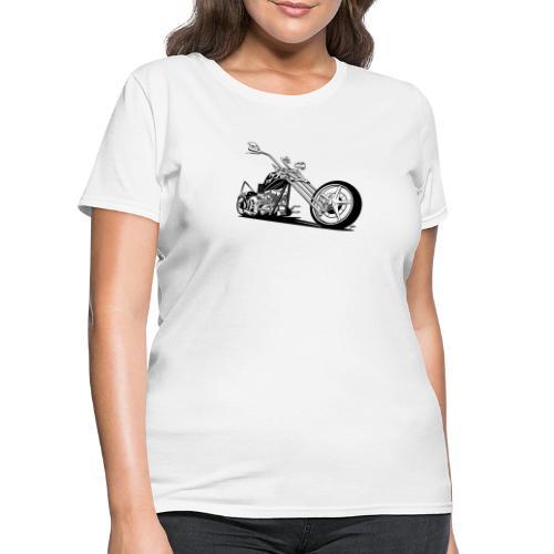 Custom American Chopper Motorcycle - Women's T-Shirt