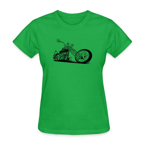 Custom American Chopper Motorcycle - Women's T-Shirt