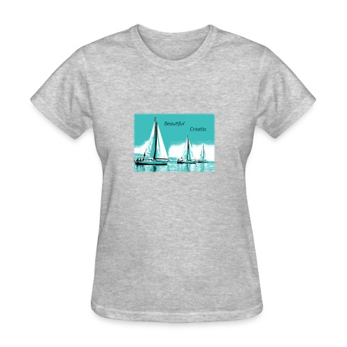 Beautiful Croatia - Women's T-Shirt