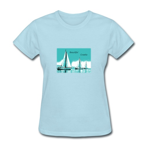 Beautiful Croatia - Women's T-Shirt