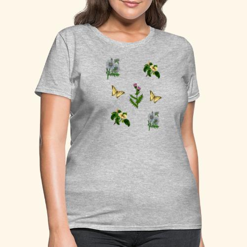 vintage bloom Botanical Design - Women's T-Shirt