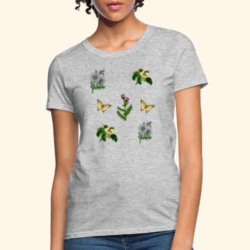 vintage bloom Botanical Design - Women's T-Shirt