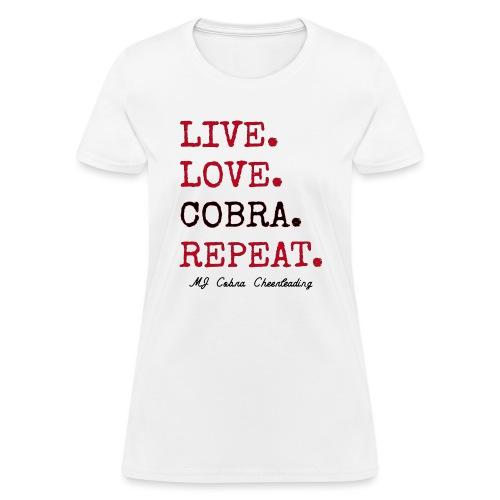 Live Love Cobra - Women's T-Shirt