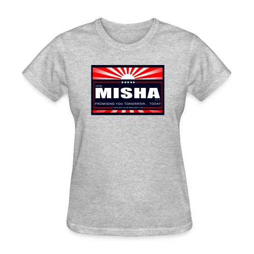 Vote 4 Misha Poster - Women's T-Shirt