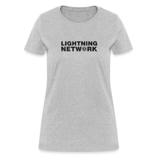 Lightning Network Bitcoin Tshirt - Women's T-Shirt
