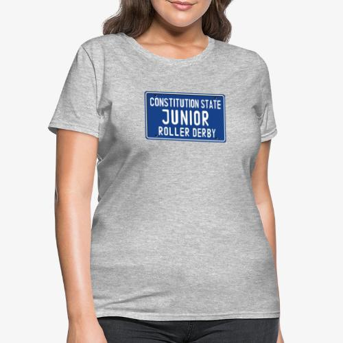 Constitution State Junior Roller Derby - Women's T-Shirt
