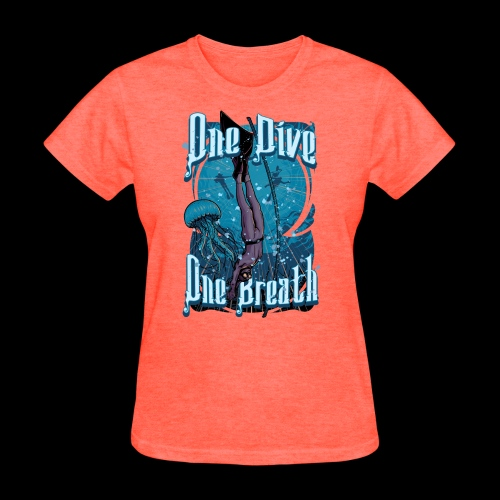 One Dive One Breath Freediving - Women's T-Shirt
