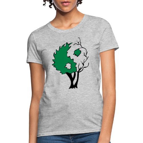 Yin Yang Tree - Women's T-Shirt