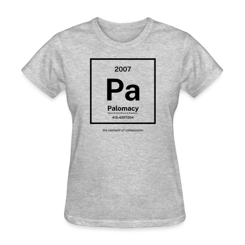 Palomacy: Element of Compassion (Black) - Women's T-Shirt