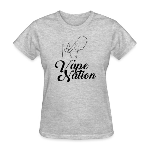 Vape Nation black - Women's T-Shirt