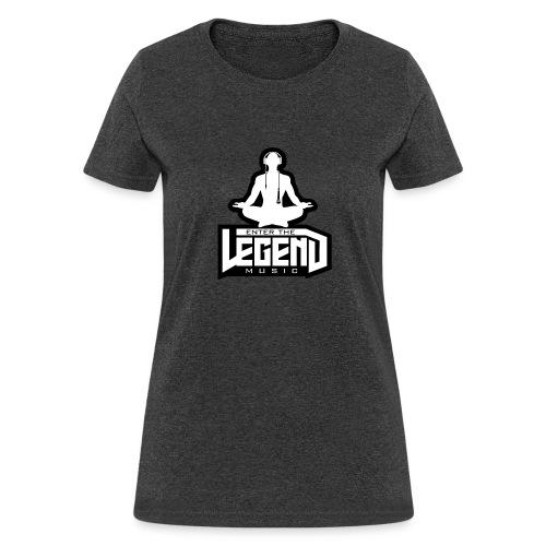 Enter The Legend Music B/W - Women's T-Shirt
