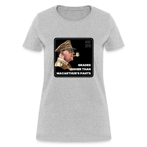 MacArthurs Grades - Women's T-Shirt