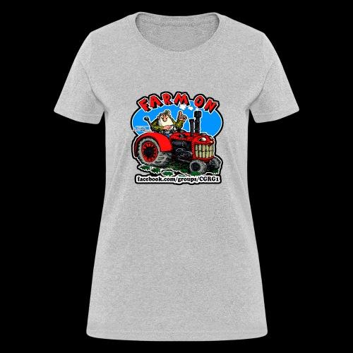 Mr Natural Farm On - Women's T-Shirt