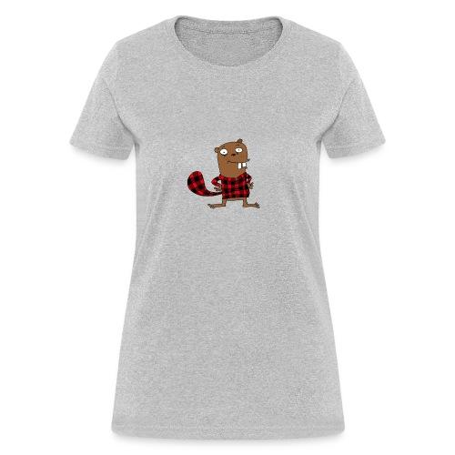 Canadian beaver - Women's T-Shirt
