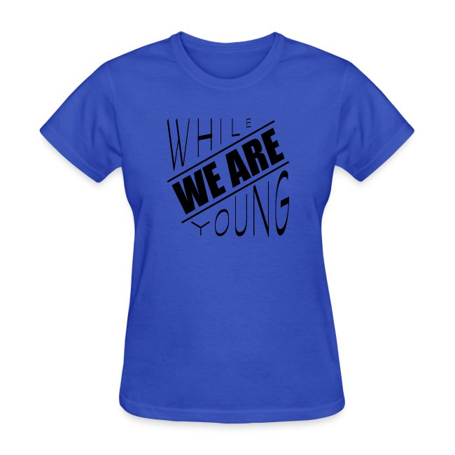 While we are young