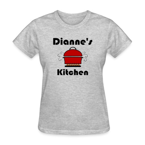 Dianne's Kitchen with Red Pot - Women's T-Shirt