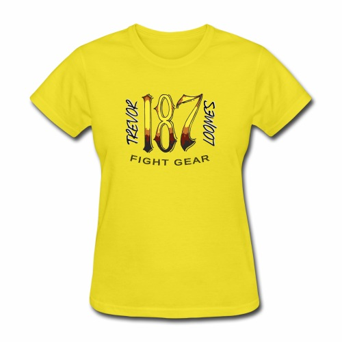 Coloured Trevor Loomes 187 Fight Gear Logo - Women's T-Shirt