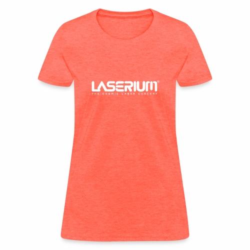LaseriumLogo SolidBlack Tag - Women's T-Shirt