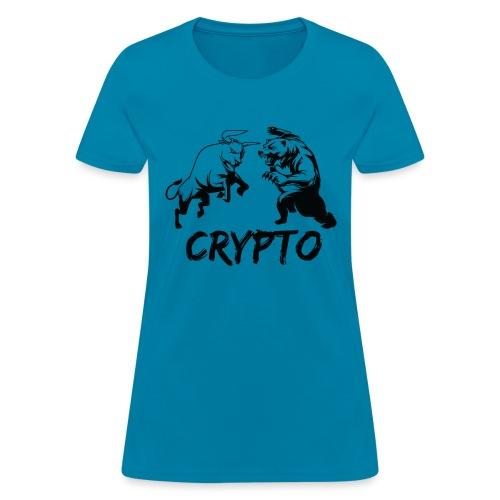 CryptoBattle Black - Women's T-Shirt