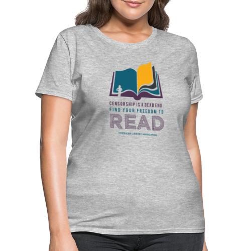 Find Your Freedom to Read - Women's T-Shirt