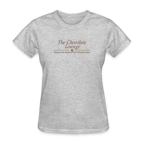 The Chocolate Lounge T shirt design 1 - Women's T-Shirt