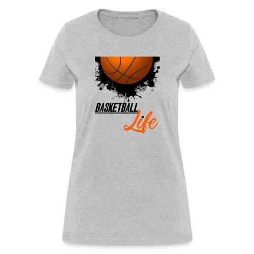 Basketball Sports T shirt lover - Women's T-Shirt