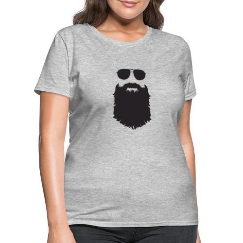 Beardy Silhouette - Women's T-Shirt