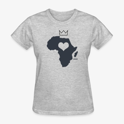 Herat Of Africa - Women's T-Shirt