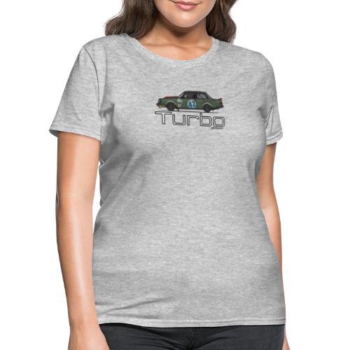 240 Turbo Track Car - Women's T-Shirt