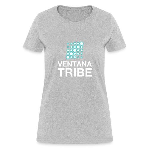 Ventana Tribe White Logo - Women's T-Shirt
