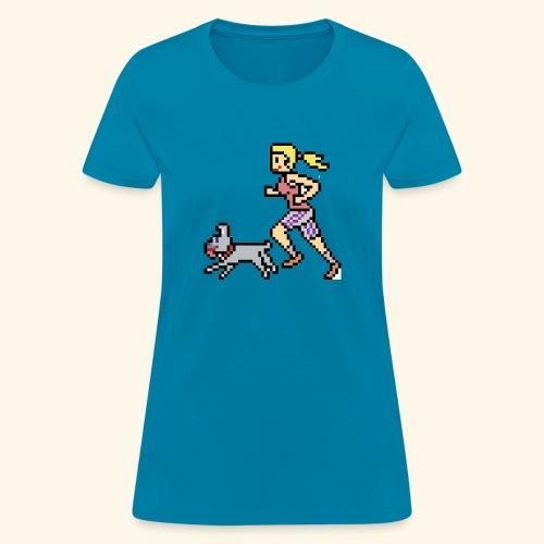 RunWithPixel - Women's T-Shirt