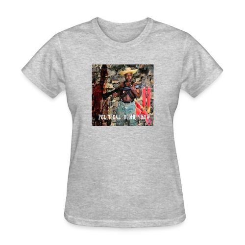 Political Bomb Show - Women's T-Shirt