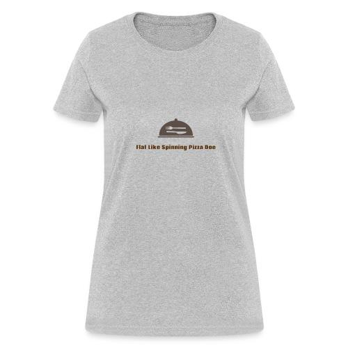 Degrasse Tyson flat earth tee shirt - Women's T-Shirt