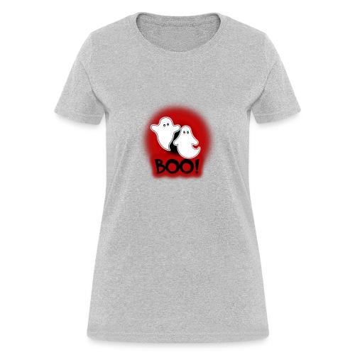 Ghosties Boo Happy Halloween 4 - Women's T-Shirt