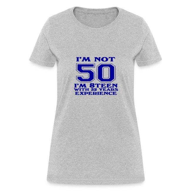 8teen blue not 50