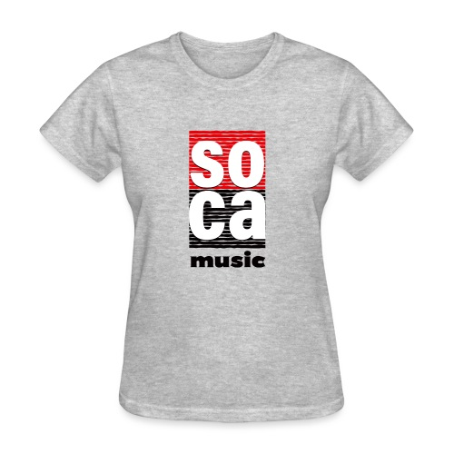 Soca music - Women's T-Shirt