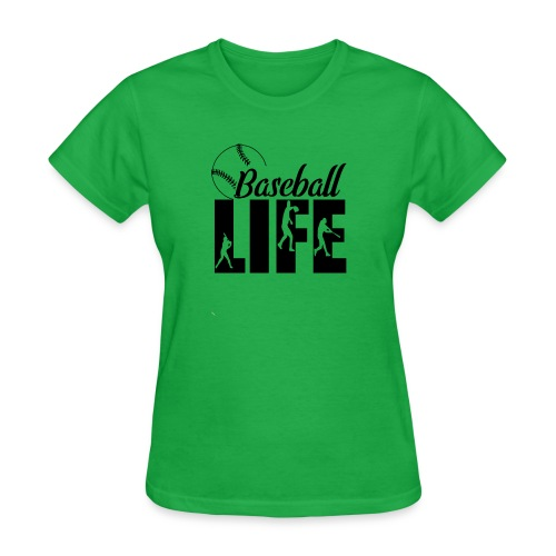 Baseball life - Women's T-Shirt